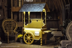 Candy Cart at Rubies & Rust Barn